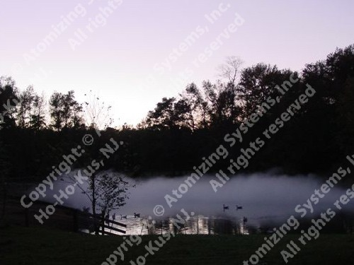 Special Landscape Fog Effects - Pond at Dusk